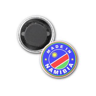 hecho en etiqueta del producto de la bandera de pa imán redondo 3 cm