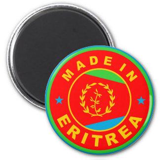 hecho en etiqueta del producto de la bandera de pa imán redondo 5 cm