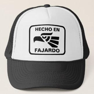 Hecho en Fajardo personalizado custom personalized Trucker Hat