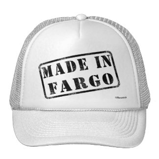 Hecho en Fargo Gorro De Camionero