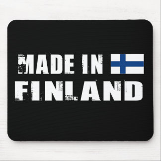 Hecho en Finlandia Mousepad