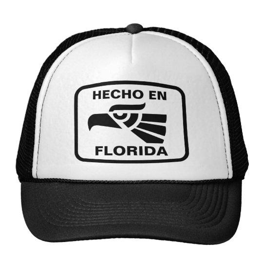 Hecho en Florida personalizado custom personalized Trucker Hat