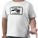Hecho en Florida personalizado custom personalized Tshirt