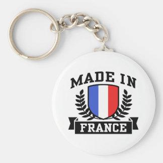 Hecho en Francia Llavero Redondo Tipo Pin