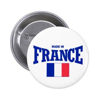 Hecho en Francia Pin Redondo De 2 Pulgadas