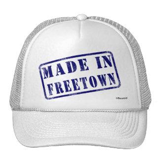 Hecho en Freetown Gorras