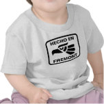 Hecho en Fremont personalizado custom personalized Tshirts