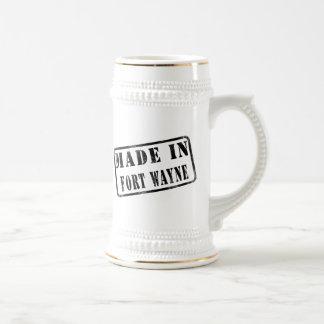 Hecho en fuerte Wayne Tazas De Café