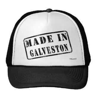 Hecho en Galveston Gorras
