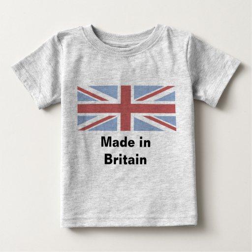 Hecho en Gran Bretaña - chaleco del bebé Tshirts