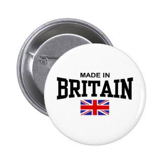 Hecho en Gran Bretaña Pin Redondo De 2 Pulgadas