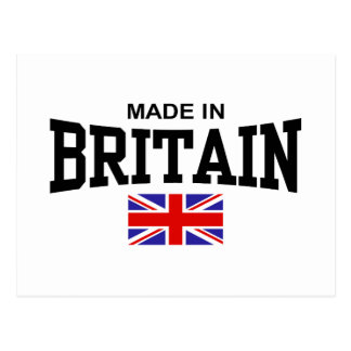 Hecho en Gran Bretaña Tarjetas Postales