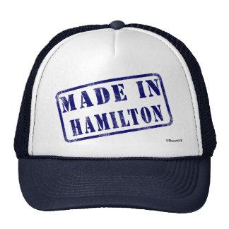Hecho en Hamilton Gorras De Camionero