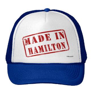 Hecho en Hamilton Gorros Bordados