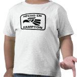 Hecho en Hampton personalizado custom personalized T Shirt