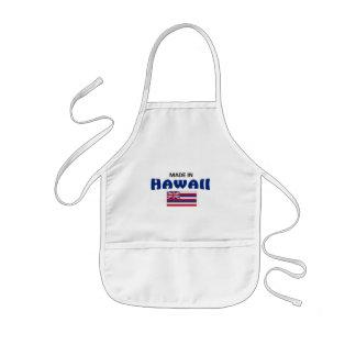 Hecho en Hawaii Delantal Infantil