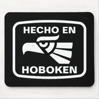 Hecho en Hoboken personalizado custom personalized Mouse Pad