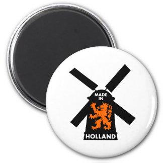 Hecho en Holanda Imán Redondo 5 Cm