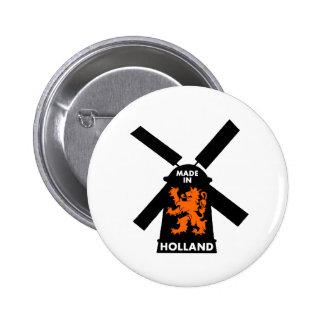 Hecho en Holanda Pin Redondo De 2 Pulgadas