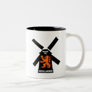Hecho en Holanda Taza De Dos Tonos
