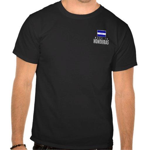 Hecho en Honduras - oscuridad - bolsillo Camisetas