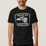 Hecho en Houston personalizado custom personalized Tee Shirt
