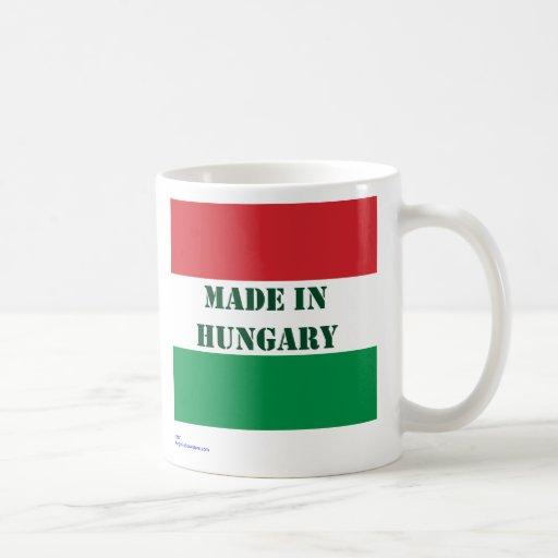 Hecho en Hungría Taza