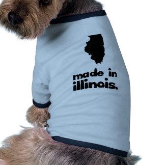 Hecho en Illinois Camisas De Perritos