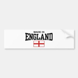 Hecho en Inglaterra Etiqueta De Parachoque