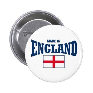 Hecho en Inglaterra Pin Redondo De 2 Pulgadas
