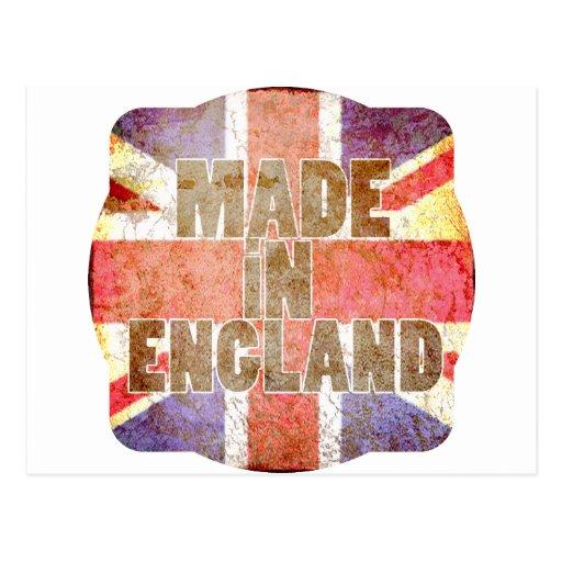 Hecho en Inglaterra Postal