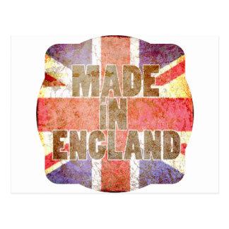 Hecho en Inglaterra Tarjeta Postal