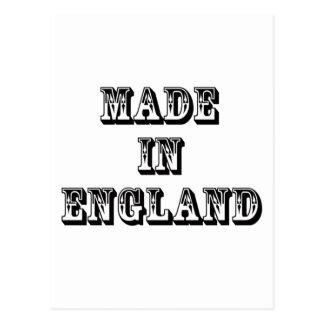 hecho en Inglaterra Tarjetas Postales