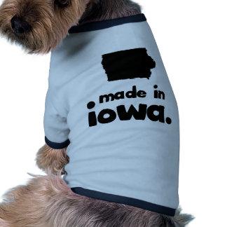 Hecho en Iowa Camiseta De Perro