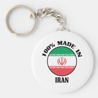 Hecho en Irán Llavero Redondo Tipo Pin