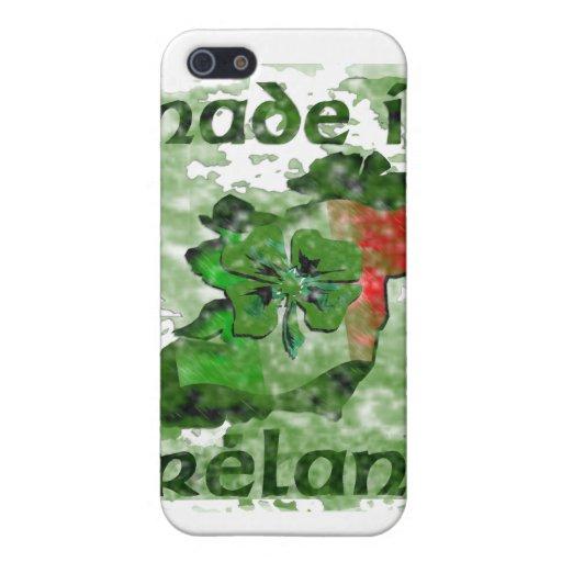 hecho en Irlanda iPhone 5 Carcasas