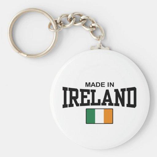 Hecho en Irlanda Llavero Redondo Tipo Pin