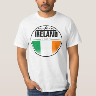 "Hecho en… ""Irlanda "" Polera"