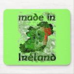 hecho en Irlanda Tapete De Ratón
