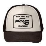 Hecho en Irvine personalizado custom personalized Mesh Hat