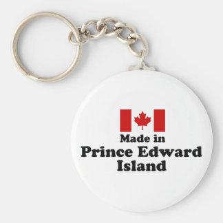 Hecho en Isla del Principe Eduardo Llaveros Personalizados