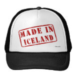 Hecho en Islandia Gorro De Camionero