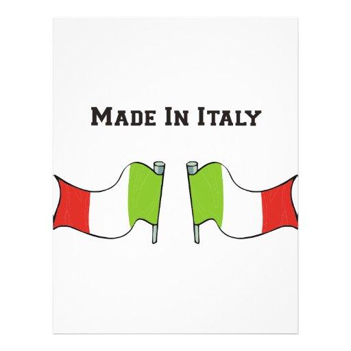 Hecho en Italia Tarjetón