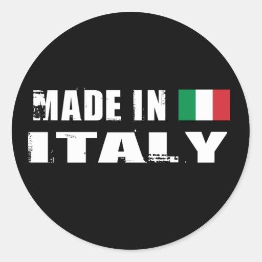 Hecho en Italia Pegatina