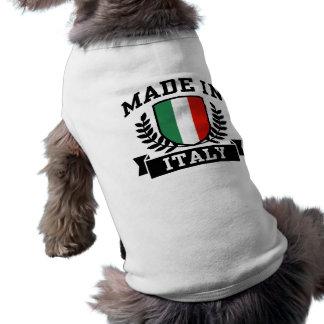 Hecho en Italia Playera Sin Mangas Para Perro
