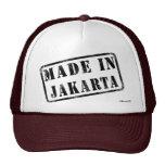 Hecho en Jakarta Gorras