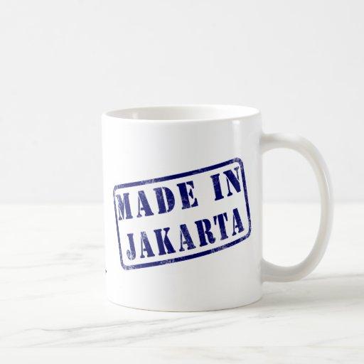 Hecho en Jakarta Taza Básica Blanca