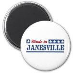 Hecho en Janesville Imán De Frigorifico