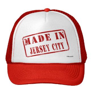 Hecho en Jersey City Gorras