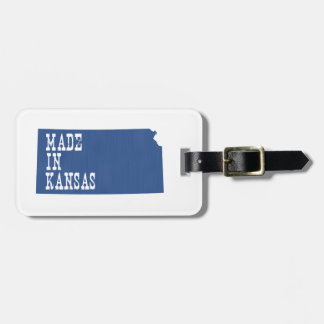 Hecho en Kansas Etiqueta Para Equipaje